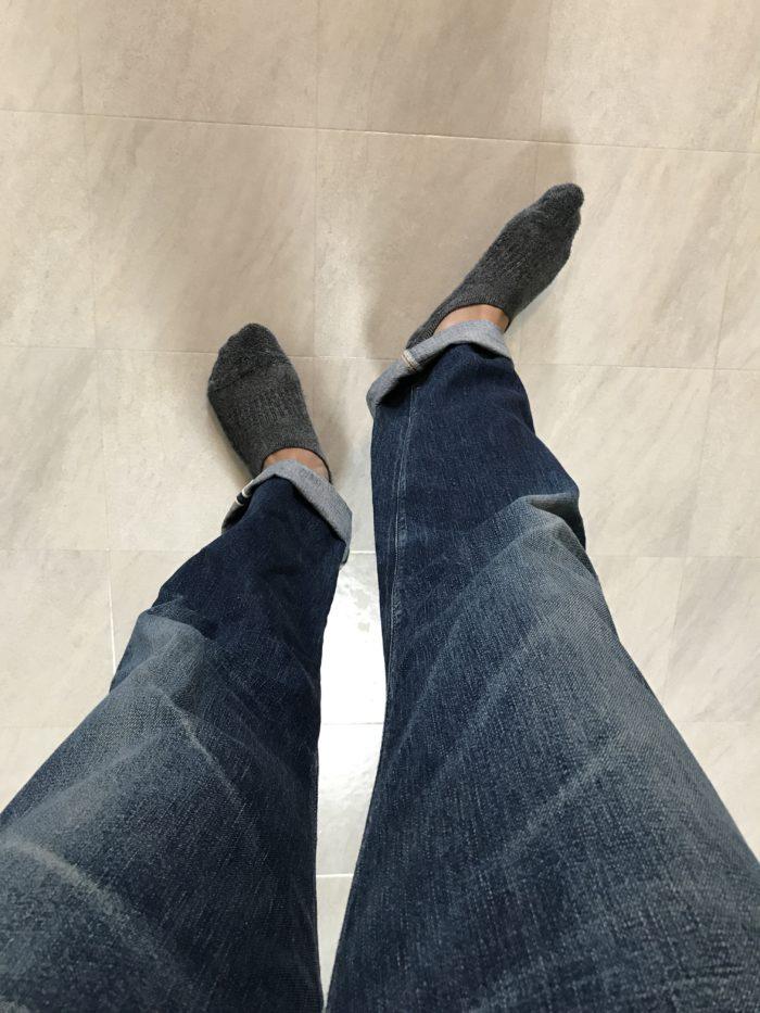 足が太い ジーンズ選び方