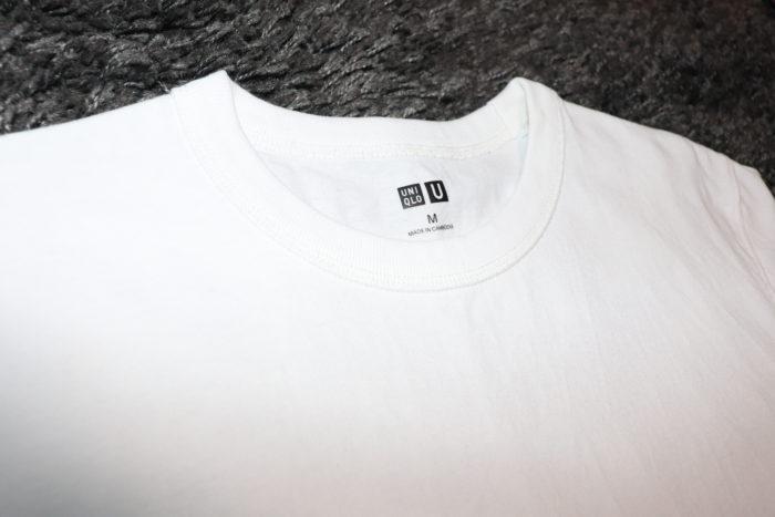 ユニクロU ヘインズ 白Tシャツ