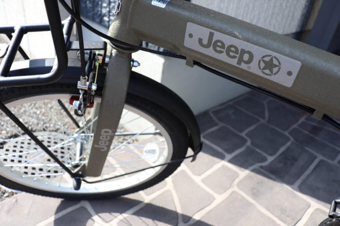 jeep ジープ 折りたたみ自転車